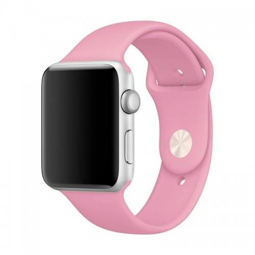 Ανταλλακτικό Λουράκι OEM Smoothband για Apple Watch 42/44mm (Ροζ)