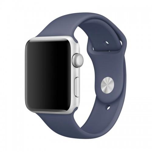 Ανταλλακτικό Λουράκι OEM Smoothband για Apple Watch 42/44mm (Σκούρο Μπλε)