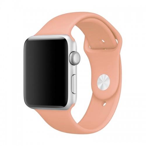 Ανταλλακτικό Λουράκι OEM Smoothband για Apple Watch 42/44mm (Σομόν)