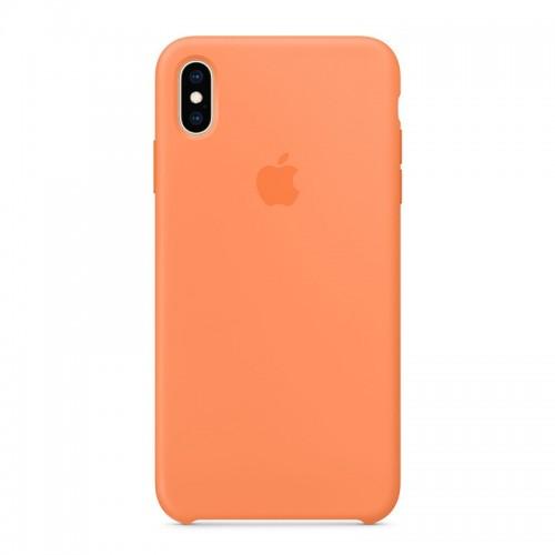 Θήκη Original Apple Silicone Case για iPhone XS Max (MVF72ZM/A) (Papaya)