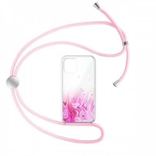 Θήκη Star Pink Cord Design 1 Back Cover για iPhone 12 mini (Design)