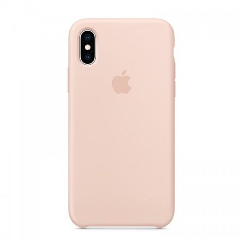 Θήκη Original Apple Silicone Case για iPhone X/XS (MTF82ZM/A) (Pink Sand)