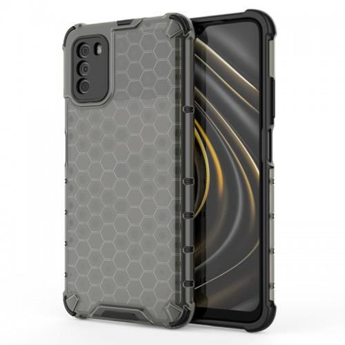 Θήκη OEM Honeycomb Back Cover για Xiaomi Poco M3 (Μαύρο)