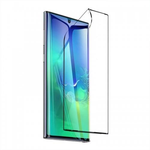 Προστατευτικό Οθόνης Polymer Nano Full Cover Curved για Samsung Galaxy Note 20 Plus (Μαύρο)