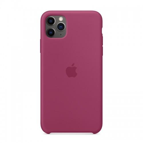 Θήκη Original Apple Silicone Case για iPhone 11 Pro Max (MXM82ZM/A) (Pomegranate)