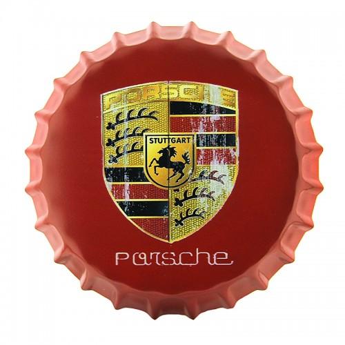 Διακοσμητικό Τοίχου Καπάκι Porsche Stuttgart (Design)