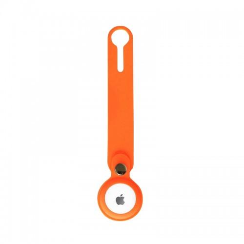 Θήκη Loop Σιλικόνης για AirTag (Πορτοκαλί)