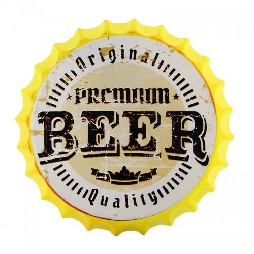 Διακοσμητικό Τοίχου Καπάκι Premium Beer (Design)
