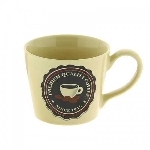 Κούπα Premium Quality Coffee Cup and Coffee Beans 300ml (Μπεζ)