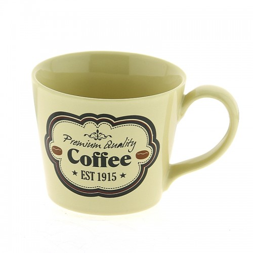Κούπα Premium Quality Coffee Est. 1915 300ml (Μπεζ)