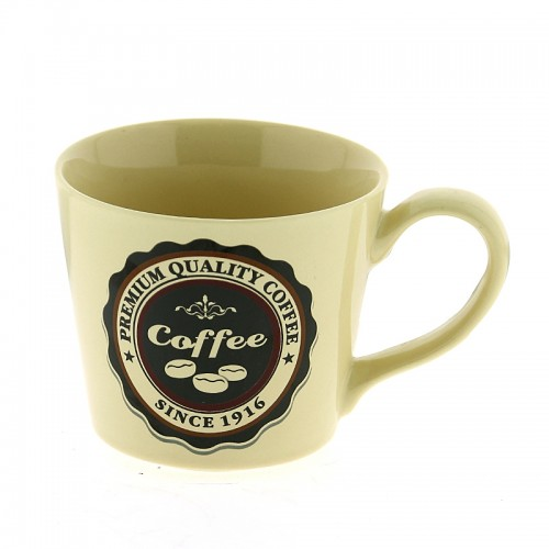 Κούπα Premium Quality Coffee Since 1916 300ml (Μπεζ)