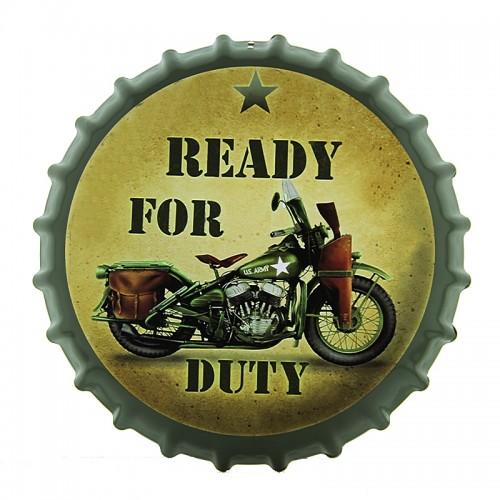 Διακοσμητικό Τοίχου Καπάκι Ready For Duty (Design)