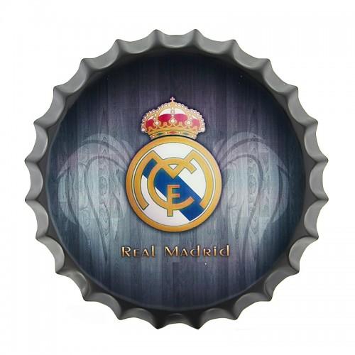 Διακοσμητικό Τοίχου Καπάκι Real Madrid FC (Design)