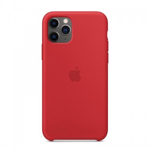 Θήκη Original Apple Silicone Case για iPhone 11 Pro (MWYH2ZM/A) (Red)
