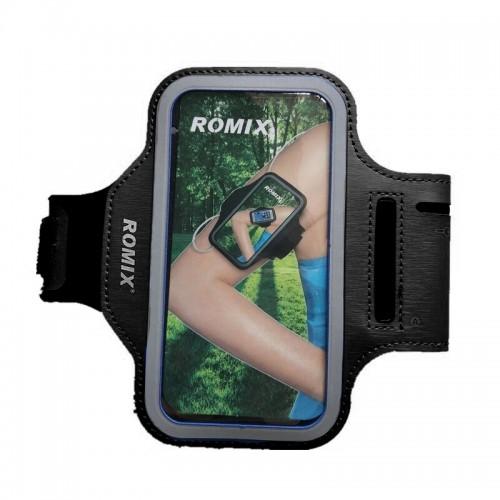 Θήκη ROMIX Armband για Universal 5.5'' (Μαύρο)