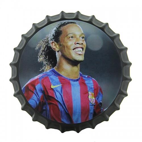 Διακοσμητικό Τοίχου Καπάκι Ronaldinho Shaka Sign (Design)