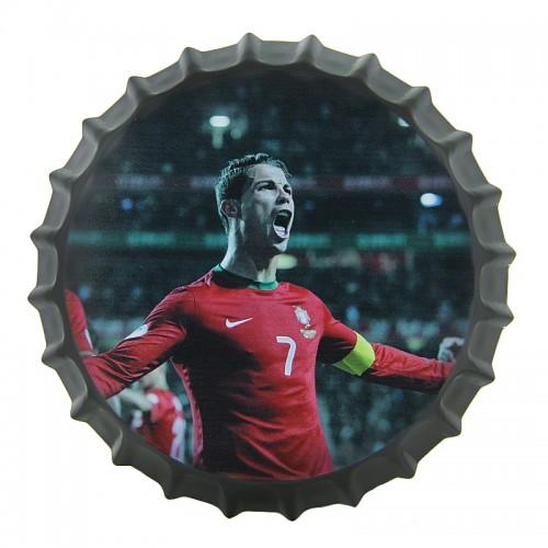 Διακοσμητικό Τοίχου Καπάκι Cristiano Ronaldo Portugal (Design)