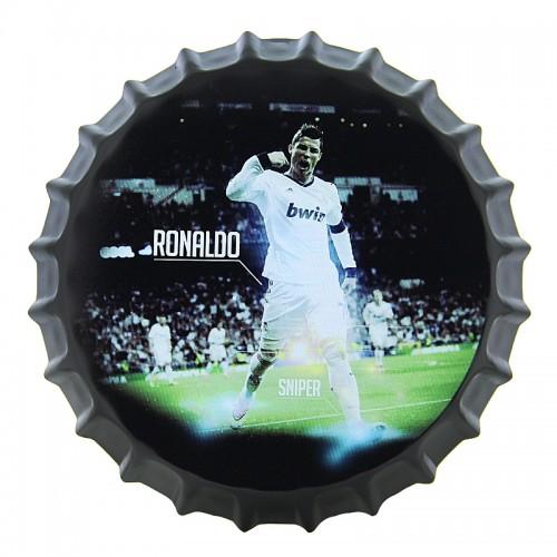 Διακοσμητικό Τοίχου Καπάκι Cristiano Ronaldo Sniper (Design)