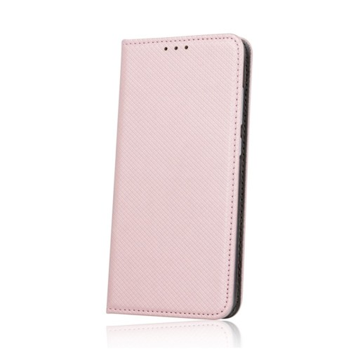 Θήκη Flip Cover Smart Magnet για Samsung Galaxy A40 (Rose Gold)