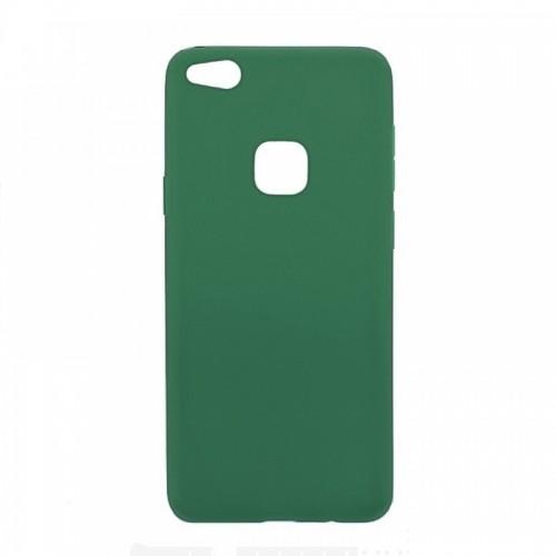 Θήκη MyMobi Σιλικόνης Mat Back Cover για Xiaomi Mi 11i/ Redmi K40/ Redmi K40 Pro/ Poco F3 (Σκούρο Πράσινο)