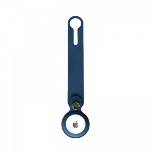Θήκη Loop Σιλικόνης για AirTag (Σκούρο Μπλε)