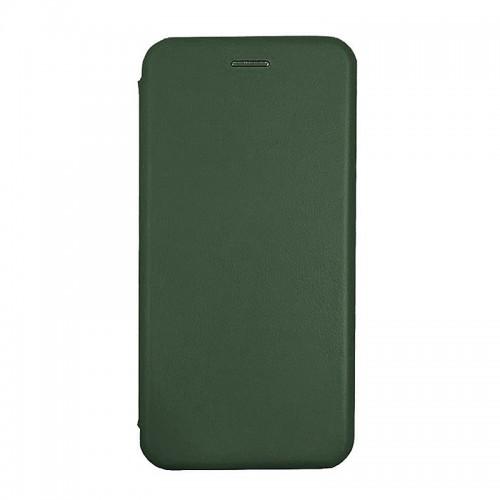 Θήκη MyMobi Flip Cover Elegance για Samsung Galaxy A32 (Σκούρο Πράσινο)