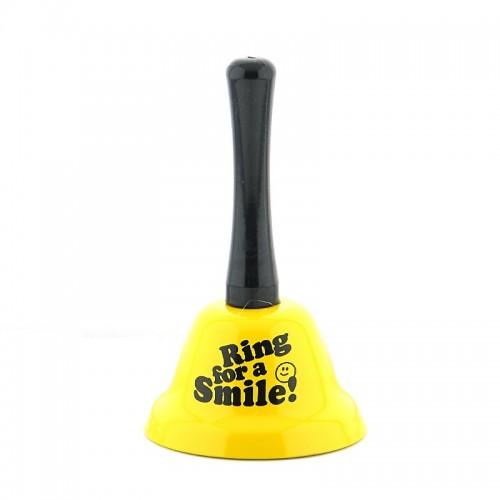 Καμπανάκι Ring for a Smile (Κίτρινο)