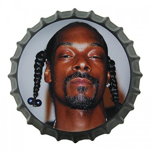 Μεταλλικό Διακοσμητικό Τοίχου Καπάκι Snoop Dogg Braids (Design)
