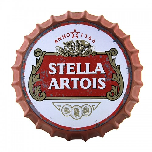 Διακοσμητικό Τοίχου Καπάκι Stella Artois (Design)