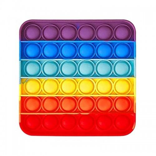Pop It Fidget Bubble Toy Τετράγωνο (Design)