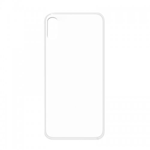 Θήκη MyMobi Σιλικόνης Mat Back Cover για Xiaomi Redmi 9C (Διαφανές)