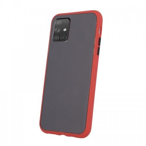 Θήκη Vennus Colored Buttons Back Cover για Samsung Galaxy A51 (Κόκκινο - Μαύρο)