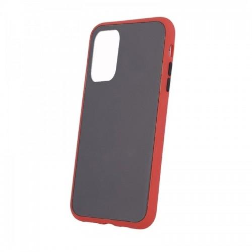 Θήκη Vennus Colored Buttons Back Cover για Huawei P40 Pro (Κόκκινο - Μαύρο)