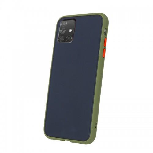 Θήκη Vennus Colored Buttons Back Cover για Samsung Galaxy A51 (Πράσινο - Πορτοκαλί)