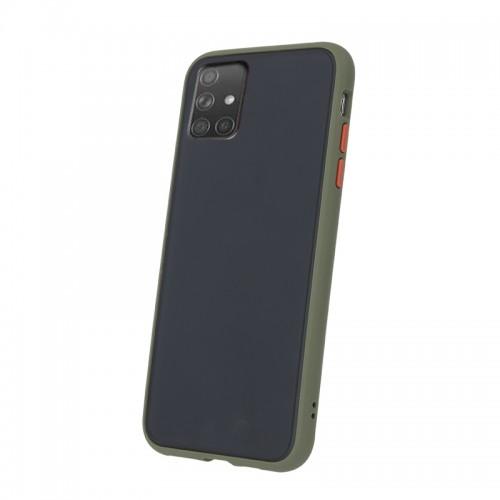 Θήκη Vennus Colored Buttons Back Cover για Samsung Galaxy A51 (Χακί - Πορτοκαλί)