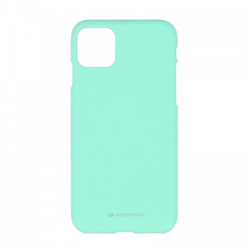 Θήκη Goospery Soft Feeling Back Cover για iPhone 11 Pro Max (Βεραμάν)