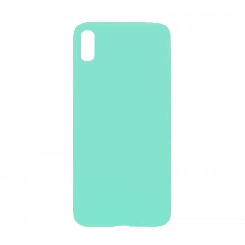 Θήκη MyMobi Σιλικόνης Mat Back Cover για Samsung Galaxy A02 (Βεραμάν)