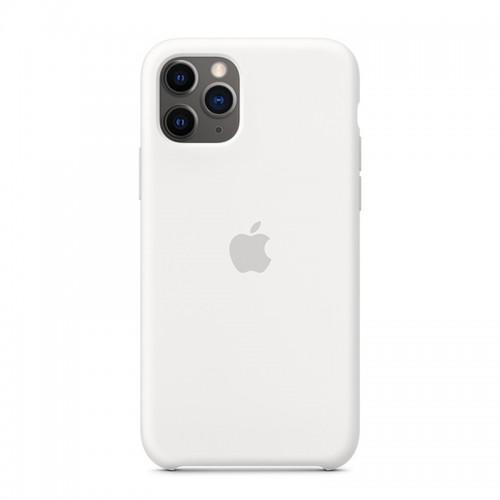Θήκη Original Apple Silicone Case για iPhone 11 Pro Max (MWYX2ZM/A) (White)