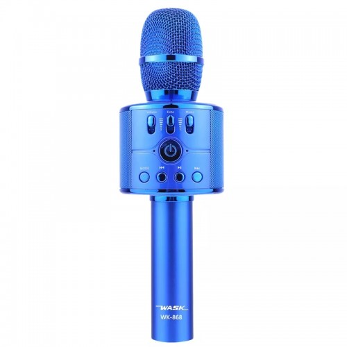 Ασύρματο Μικρόφωνο Wask WK-868 (Μπλε)