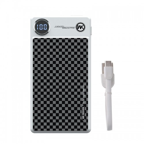 Powerbank WK King Carbon Style 10000mAh (Design)