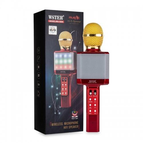 Ασύρματο Μικρόφωνο WSTER WS-1828 (Κόκκινο)