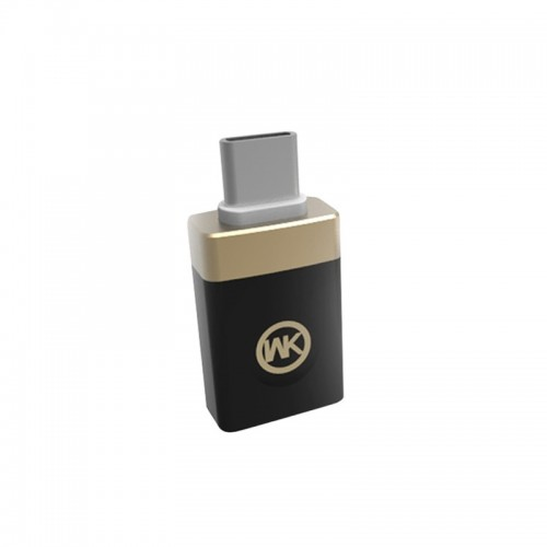 Adaptor WT-OTG Male Type C to Female Usb (Μαύρο)