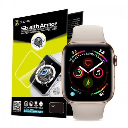 Μεμβράνη Προστασίας X-ONE Shock Stealth για SmartWatch Universal 40mm (Διαφανές)