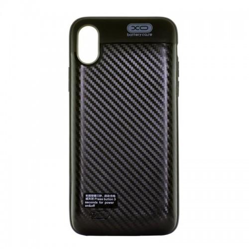Power Case XO PB36 για iPhone X 3000mAh (Μαύρο)