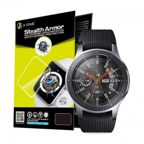 Μεμβράνη Προστασίας X-ONE Shock Stealth για Samsung Galaxy Watch 42mm (Διαφανές)