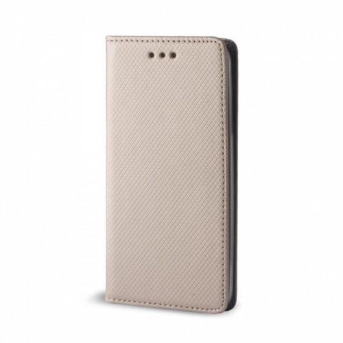 Θήκη Flip Cover Smart Magnet για Samsung Galaxy A71 (Χρυσό)