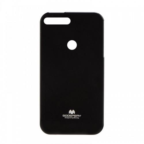 Θήκη Jelly Case Back Cover για Huawei Y7 2018 (Μαύρο)