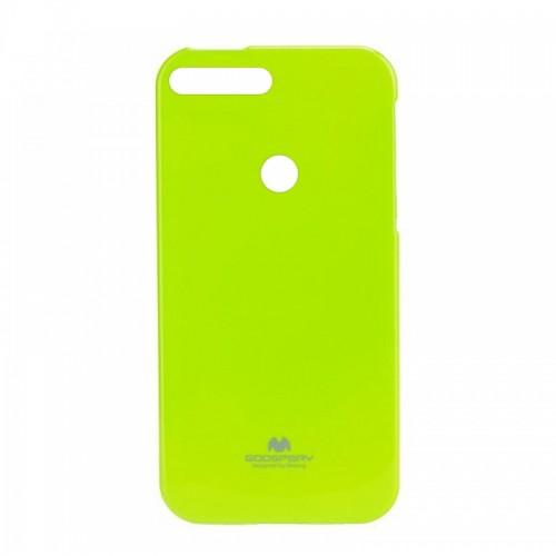 Θήκη Jelly Case Back Cover για Huawei Y7 2018 (Λαχανί)