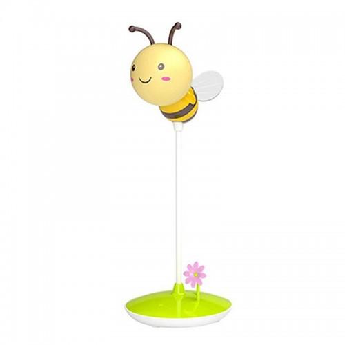Επιτραπέζιο Φωτιστικό σε Σχήμα Μέλισσα με USB (Κίτρινο)