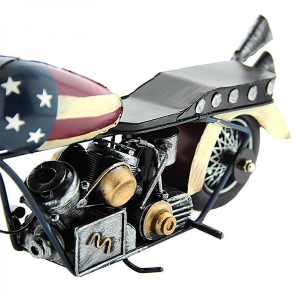 Διακοσμητική Μεταλλική Μηχανή USA (Design)